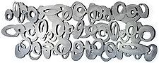 Freeform Olive Large Format Metal Wall Sculpture by Cherie Haney (Metal Wall Sculpture)