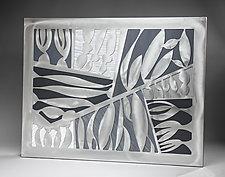 Banyan Tropical Botanical by Cherie Haney (Metal Wall Sculpture)