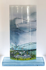 Fragrant Clearing by Alice Benvie Gebhart (Art Glass Sculpture)