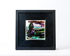 Show Off by Alice Benvie Gebhart (Art Glass Wall Sculpture)