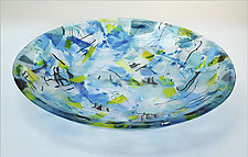 Confetti Bowl by Alice Benvie Gebhart (Art Glass Bowl)