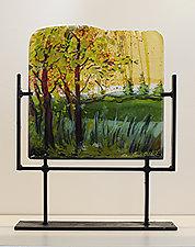 Change of Season by Alice Benvie Gebhart (Art Glass Sculpture)