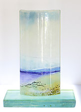 A Good Day by Alice Benvie Gebhart (Art Glass Sculpture)