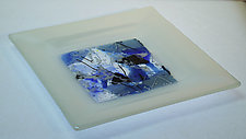 Confetti Dish by Alice Benvie Gebhart (Art Glass Platter)