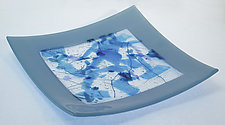 Confetti for the Table by Alice Benvie Gebhart (Art Glass Platter)