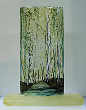 Awakening by Alice Benvie Gebhart (Art Glass Sculpture)