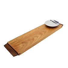 Urban Serving Board with Dipping Bowl by Desmond Suarez (Wood Serving Piece)