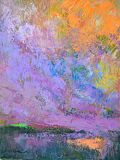 Amethyst Eve by Dorothy Fagan (Oil Painting)