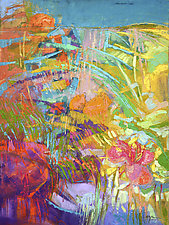 Blooming Heart by Dorothy Fagan (Oil Painting)