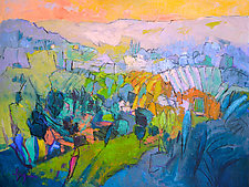 Joyous Garden by Dorothy Fagan (Oil Painting)