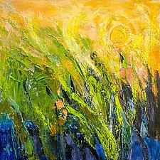 Marsh: Sunrise by Dorothy Fagan (Oil Painting)