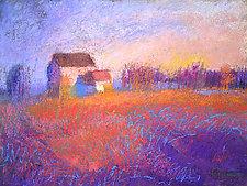 Long Shadow by Dorothy Fagan (Pastel Painting)