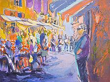 Fresh Market III by Dorothy Fagan (Mixed-Media Painting)