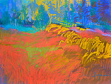 Beating Heart by Dorothy Fagan (Pastel Painting)