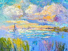 Shimmering Afternoon by Dorothy Fagan (Oil Painting)