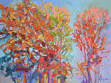 Autumn Tapestry by Dorothy Fagan (Oil Painting)