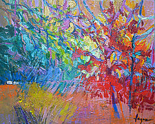 Red Oak III by Dorothy Fagan (Oil Painting)