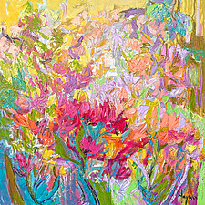 Blushing in the Meadow by Dorothy Fagan (Oil Painting)