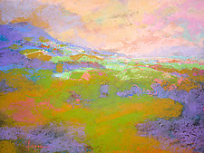 Mist Lifting by Dorothy Fagan (Pastel Painting)