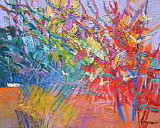Woodland Tapestry by Dorothy Fagan (Oil Painting)