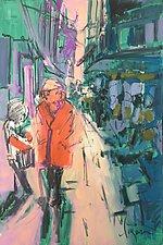 Fresh Market II by Dorothy Fagan (Mixed-Media Painting)