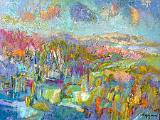 This Side of the Sun by Dorothy Fagan (Oil Painting)