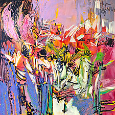 And to Everything There Is a Season, Bloom II by Dorothy Fagan (Oil Painting)