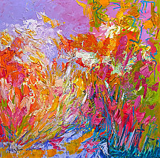 Meet Me in the Garden, Pray by Dorothy Fagan (Oil Painting)