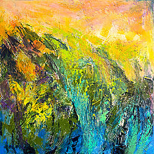 Marsh: Sunset by Dorothy Fagan (Oil Painting)