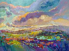 Land of Milk n Honey III by Dorothy Fagan (Oil Painting)