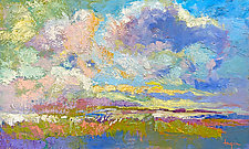 Oh My Skies by Dorothy Fagan (Oil Painting)