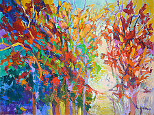 Red Oak II by Dorothy Fagan (Oil Painting)
