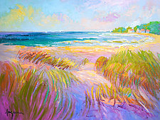 Beachcomber by Dorothy Fagan (Oil Painting)