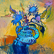 Ancient Goddess by Dorothy Fagan (Oil Painting)
