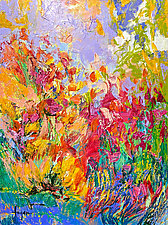 Play My Colors, Sing by Dorothy Fagan (Oil Painting)
