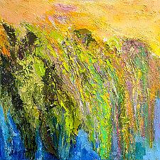 Marsh: Daybreak by Dorothy Fagan (Oil Painting)
