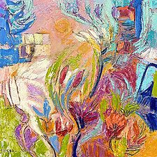 Splendid Garden by Dorothy Fagan (Oil Painting)