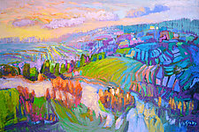 The River by Dorothy Fagan (Oil Painting)