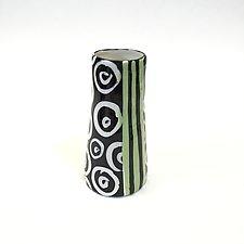 Cone Bud Vase by Matthew A. Yanchuk (Ceramic Vase)
