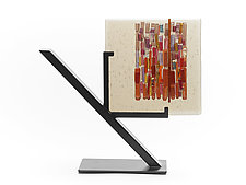 Sunset Bronze Refuge I by Alicia Kelemen (Art Glass Sculpture)