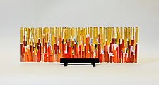 Sunrise Refuge I by Alicia Kelemen (Art Glass Sculpture)