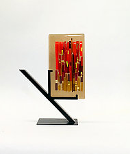 Fall Refuge I by Alicia Kelemen (Art Glass Sculpture)