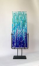Marine Refuge Prototype by Alicia Kelemen (Art Glass Sculpture)