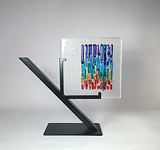 Rainbow Refuge III by Alicia Kelemen (Art Glass Sculpture)