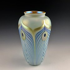 Private Collection Piece 2 by Donald  Carlson (Art Glass Vase)