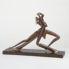 Tango Couple 2 by Scott Nelles (Metal Sculpture)