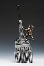 King Kong Coin Bank by Scott Nelles (Metal Sculpture)