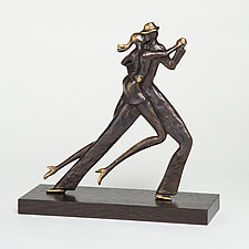 Tango Couple 1 by Scott Nelles (Metal Sculpture)