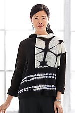 Nocturne Shibori Sweater by Laura Hunter (Knit Sweater)