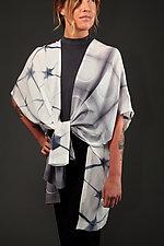 Structure & Circle Long Vest by Laura Hunter (Silk Vest)
